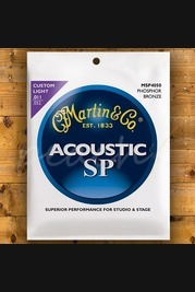 Martin SP 11-52 Custom Light 92/8 Phosphor Bronze