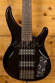 Yamaha TRBX305 Active 5-String Bass EQ Presets Black
