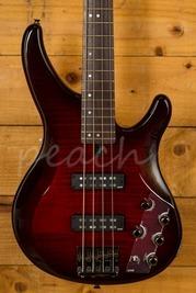 Yamaha TRBX604FM Bass Dark Red Burst