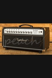 Two-Rock Silver Sterling Signature 100/50 Watt Head - Black