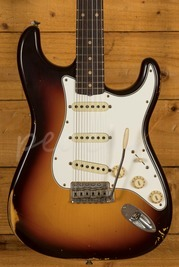 Fender Custom Shop Late 59 Strat Relic Chocolate 3 Tone Sunburst