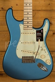 Fender American Performer Stratocaster Maple Neck Satin Lake Placid Blue