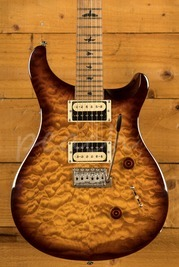 PRS SE Custom 24 Quilt Tobacco Sunburst Torrified Maple Neck Ltd