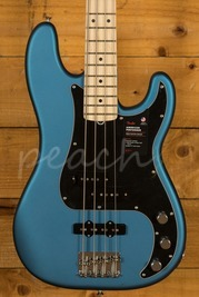 American Performer Precision Bass Maple Fingerboard Satin Lake Placid Blue