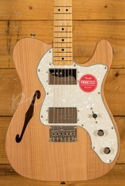 Squier Classic Vibe 70s Tele Thinline Maple Neck Natural