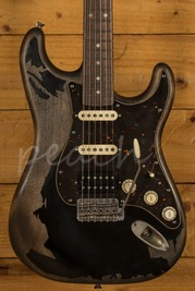 Xotic California Classic XSC-2 Black Super Heavy Aged