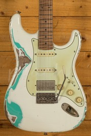 Xotic California Classic XSC-2 Vintage White over Sea Foam Green