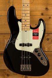 Fender American Pro Jazz Bass Maple Fingerboard, Black