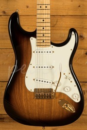 Fender 60th Anniversary Strat 2 Tone Sunburst Used