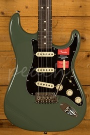 Fender American Pro Stratocaster Rosewood Antique Olive