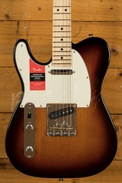 Fender American Pro Telecaster Left-Hand Maple 3-Colour Sunburst
