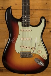 Fender Custom Shop 62 Strat Active Journeyman Relic Strat 3TS Used