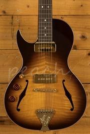 B&G Guitars Little Sister Crossroads Cutaway Tobacco Burst Left Handed Used