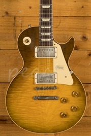 Gibson Custom 60th Anniv 59 Les Paul Green Lemon Fade VOS NH