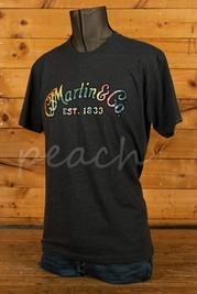 CF Martin Clothing - T Shirt - Tie Dye Logo Charcoal