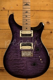 PRS SE Custom 24 Quilt Purple Burst Torrified Maple Neck Ltd