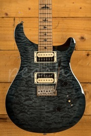 PRS SE Custom 24 Quilt Grey Black Torrified Maple Neck Ltd