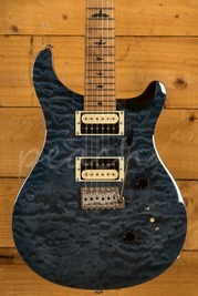 PRS SE Custom 24 Quilt Whale Blue Torrified Maple Neck Ltd