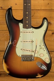 Fender Custom Shop - '60 Strat - Relic 3 Tone Sunburst