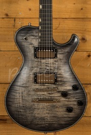 Knaggs Steve Stevens SSC in Charcoal Burst with Onyx Binding