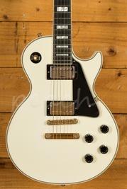 Gibson Custom Les Paul Custom White Signed By James Dean Bradfield 2004 Used