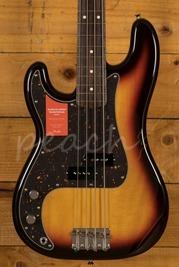 Fender Japan Traditional 60s P Bass 3 Tone Sunburst Left Handed