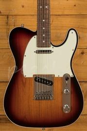 Fender American Deluxe Telecaster Used 3-Tone Sunburst Used