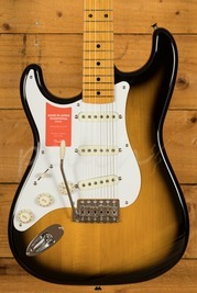 Fender Japan Traditional 50's Strat 2 Tone Sunburst Left Handed