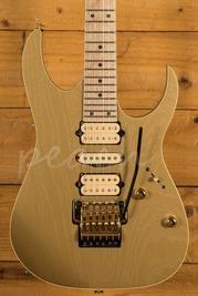 Ibanez RG Prestige RG657AHM-GDF - Gold Flat