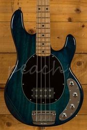 Music Man Stingray 2014 Roasted Maple Neck Neptune Blue Used