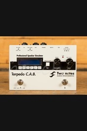 Two Notes Torpedo C.A.B. Pedal Sized Cabinet Simulator