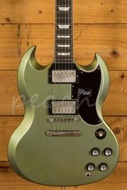Gibson Custom 61 SG Standard Antique Pelham Blue Stop Bar VOS NH