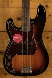 Squier Classic Vibe 60s P Bass Laurel 3TSB Left Handed