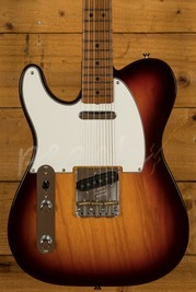 Fender Custom Shop 51 Nocaster Left Handed - Roasted Flame Neck