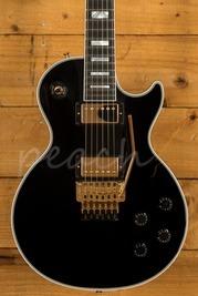 Gibson Custom Modern Les Paul Axcess Custom Ebony Gold w/floyd