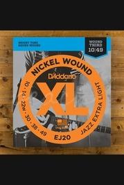 D'Addario - 10-49 Nickel Jazz Extra Light