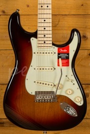 Fender American Pro Strat 3-Tone Sunburst Maple Neck