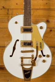 Gretsch G5655TG Limited Edition Electromatic Snow Crest White