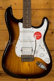 Squier Bullet Strat HSS Trem Brown Sunburst