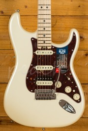 Fender American Elite Strat HSS Maple Olympic Pearl