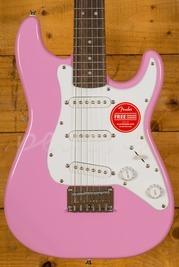 Squier Mini Strat Laurel Fingerboard Pink