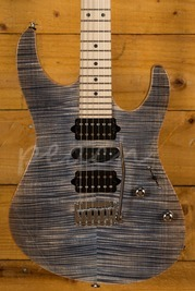 Suhr Modern Pro Faded Trans Blue Denim/Slate Maple HSH