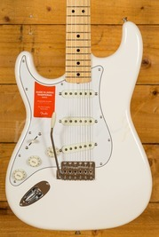 Fender MIJ Traditional 68 Stratocaster Left Handed Arctic White Maple Neck