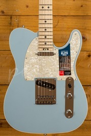 Fender American Elite Tele Maple Satin Ice Blue Metallic