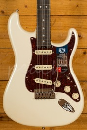 Fender American Elite Stratocaster Olympic Pearl Ebony