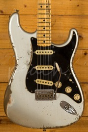 Fender Custom Shop Jason Smith Masterbuilt 69 Strat Relic Inca Silver