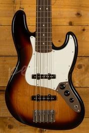 Fender Mexican Standard Jazz Bass Brown Sunburst 5 String