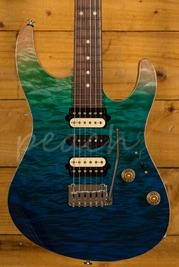 Suhr Modern Plus Curly - Aqua Blue Gradient