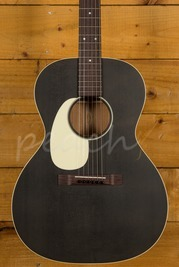 Martin 00L-17 Black Smoke Lefty | Fishman Matrix Infinity VT Free Fitting
