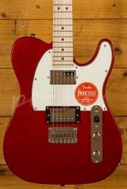 Squier Contemporary Telecaster HH Maple Dark Metallic Red